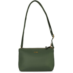 Pacsafe Stylesafe Double Zip Crossbody Bag Women kombu green